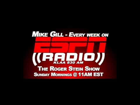 ESPN Radio   Mike Gill on Roger Stein Show 8 23 2015