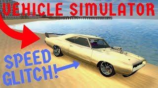INSANE Speed Glitch (Win Every Race!) Roblox Vehicle Simulator