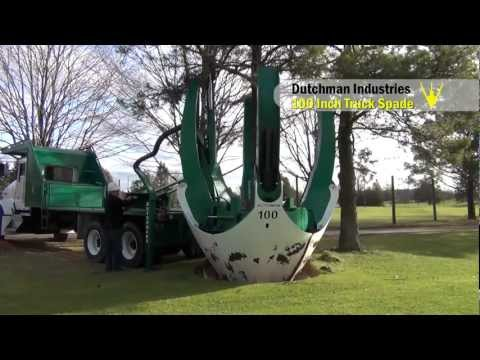 """100"""" Tree Spade(s) for Chase Farms"""