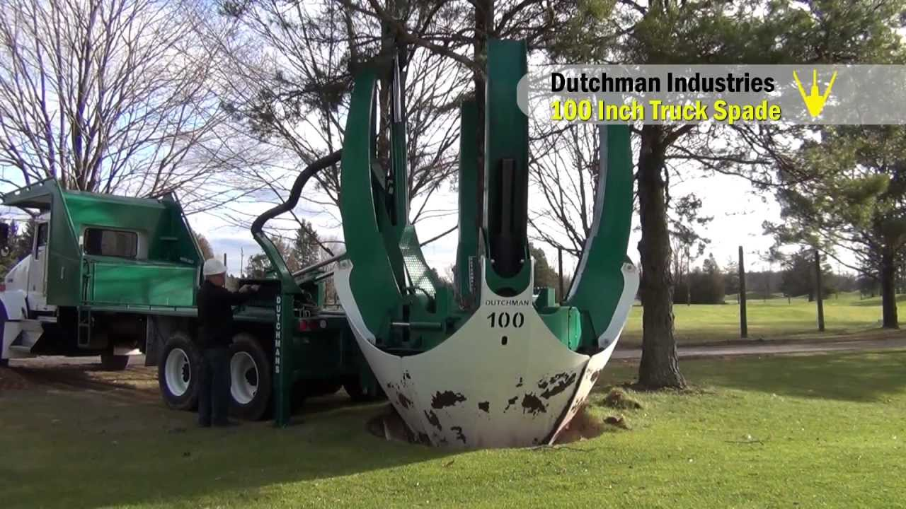 Watch This Giant Spade Take Out a Tree in One Scoop