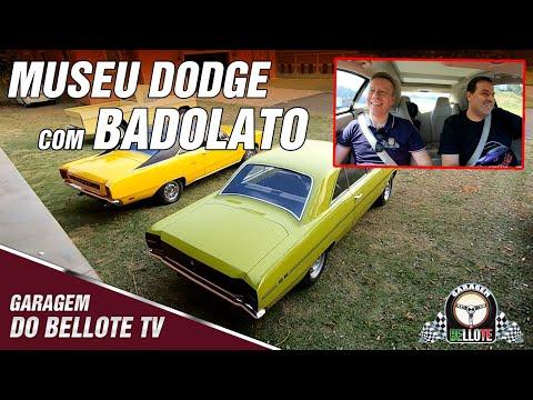 50 minutos de bate-papo com o Badolato (carros clássicos, história e Museu Dodge) | Garagem Vlog #17