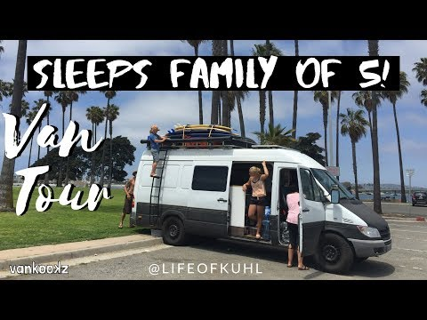 Vanlife Tour | @lifeofkuhl – Family of Five Living on the Road | Family Travel | Family Vanlife