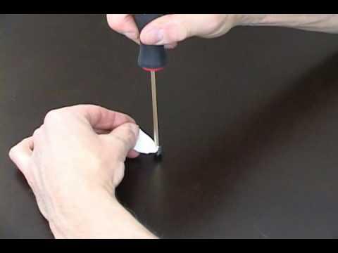 Bindery Equipment Tip - How To Replace Allen Screws