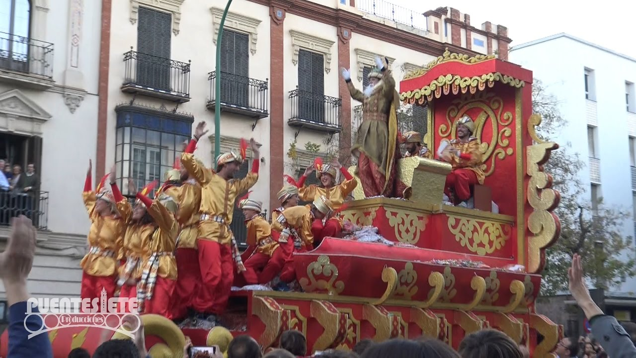 Cabalgata de los Reyes Magos del Ateneo de Sevilla 2017