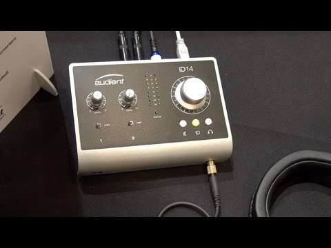 [Musikmesse] Audient iD14 & asp 800