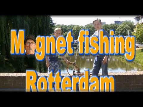 Magnet fishing 95 magneetvissen rotterdam youtube for Best places to magnet fish