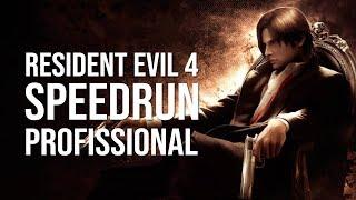 RESIDENT EVIL 4 (PC) | SPEEDRUN - NEW GAME PROFISSIONAL