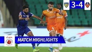Chennaiyin FC 3-4 FC Goa - Match 46 Highlights | Hero ISL 2019-20