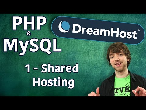 PHP MySQL in DreamHost Tutorial 1 - Signing Up for Shared Hosting