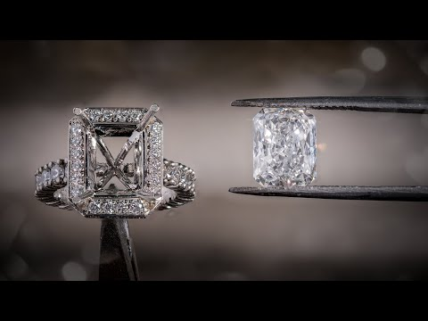 Making A 3ct D FLAWLESS Engagement Ring