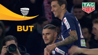 But Mauro ICARDI (3') / Paris Saint-Germain - AS Saint-Etienne 6-1 1/4 de finale PARIS-ASSE/ 2020