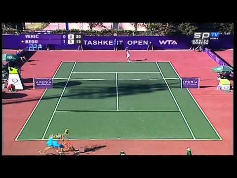 Donna Vekic Tashkent 2012 , FIRST WTA FINAL 16 years old