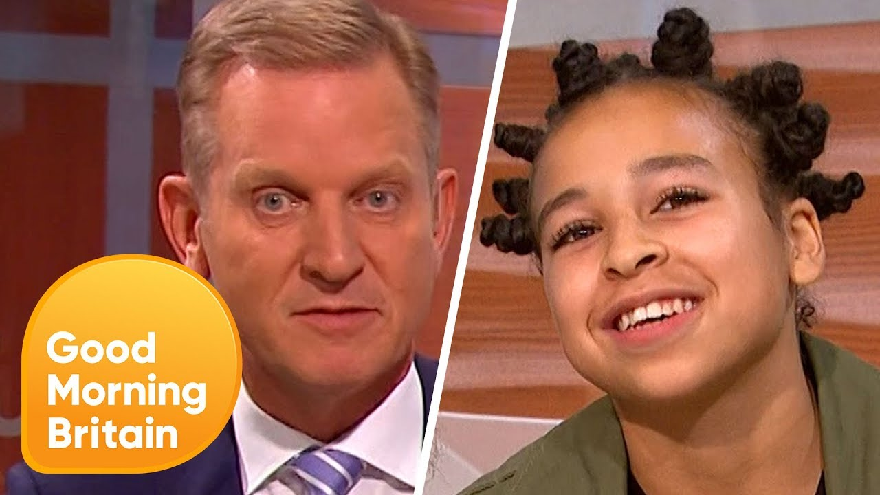 Jeremy Kyle Outsmarted By Child Geniuses Good Morning Britain