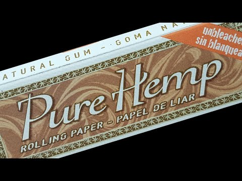Pure Hemp Regular Unbleached Rolling Paper