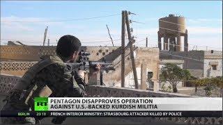 Turkey to renew war on US-backed Kurds in Syria