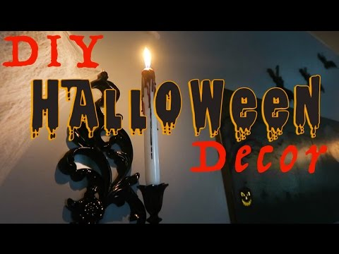 9317741773ba SCARY DIY Halloween Decorations 2016 VLOG 159 - YouTube