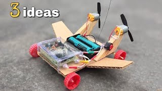 3 incredible ideas How to Make RC Toys