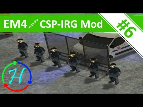 Riots in France! - Ep.6 - Emergency 4 with the CSP-IRG Mod
