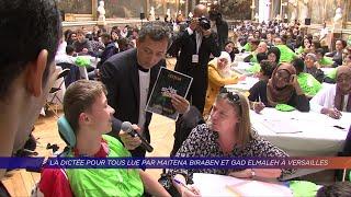 Yvelines | La dictée pour tous lue par Maitena Biraben et Gad Elmaleh à Versailles