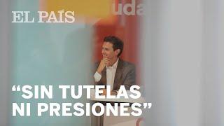 RIVERA, a los críticos en CIUDADANOS: