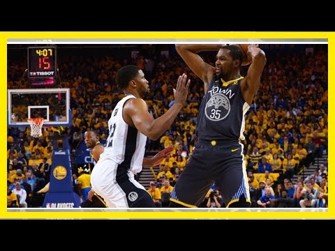 Warriors' three-point parade buries Spurs in Game 2