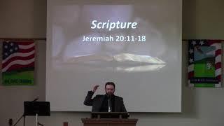 May 30, 2021 Sermon from Calvary Bible Church