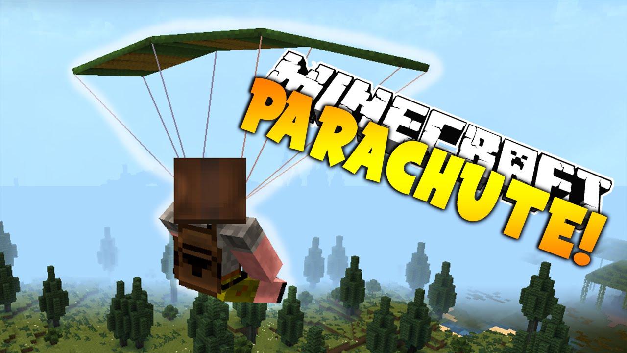 Minecraft Parachute Plugin