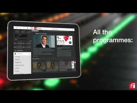 Follow world news with the RFI app