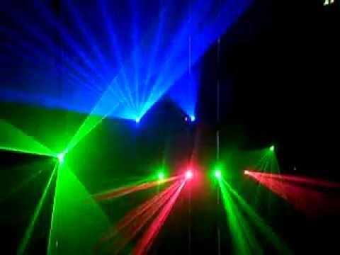 Đèn laser cho Bar, Vũ Trường