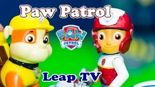 PAW PATROL Nickelodeon Paw Patrol Leap TV Game a Paw Patrol Video Toy Review