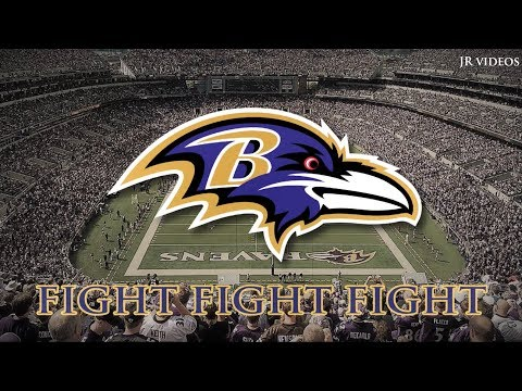 "Baltimore Ravens Fight Song - ""The Baltimore Fight Song"" (lyrics)"