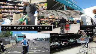 FOOD SHOPPING FOR A FAMILY OF 3 in THE UK