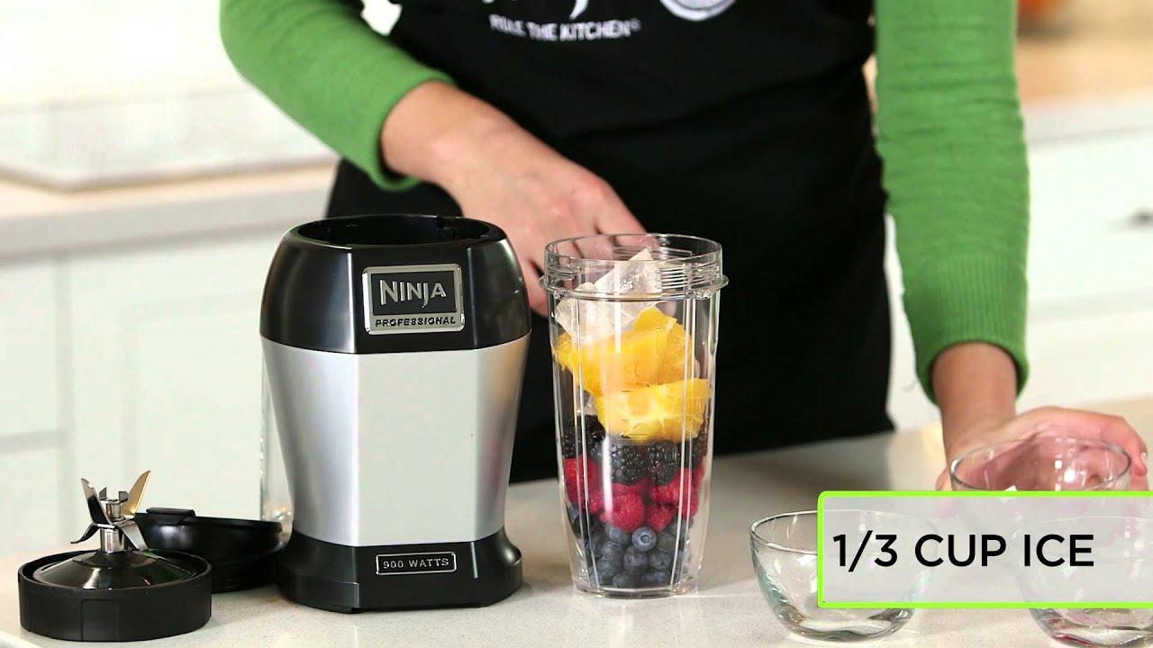 Fruit Smoothie Recipe by Nutri Ninja  Berries Galore