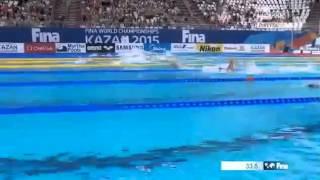 Чемпионат Мира по плаванию 2015- 200 вс Тесленко Илья  World Championships Kazan 2015