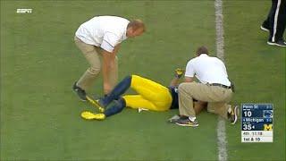 Football Kicker Tackles