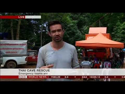 Thailand Cave Rescue - BBC World News