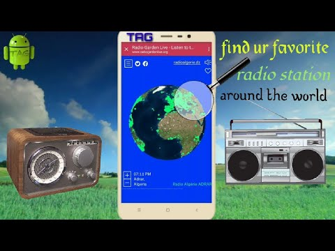 RADIOS KA GARDEN - all radio station around the world in one click