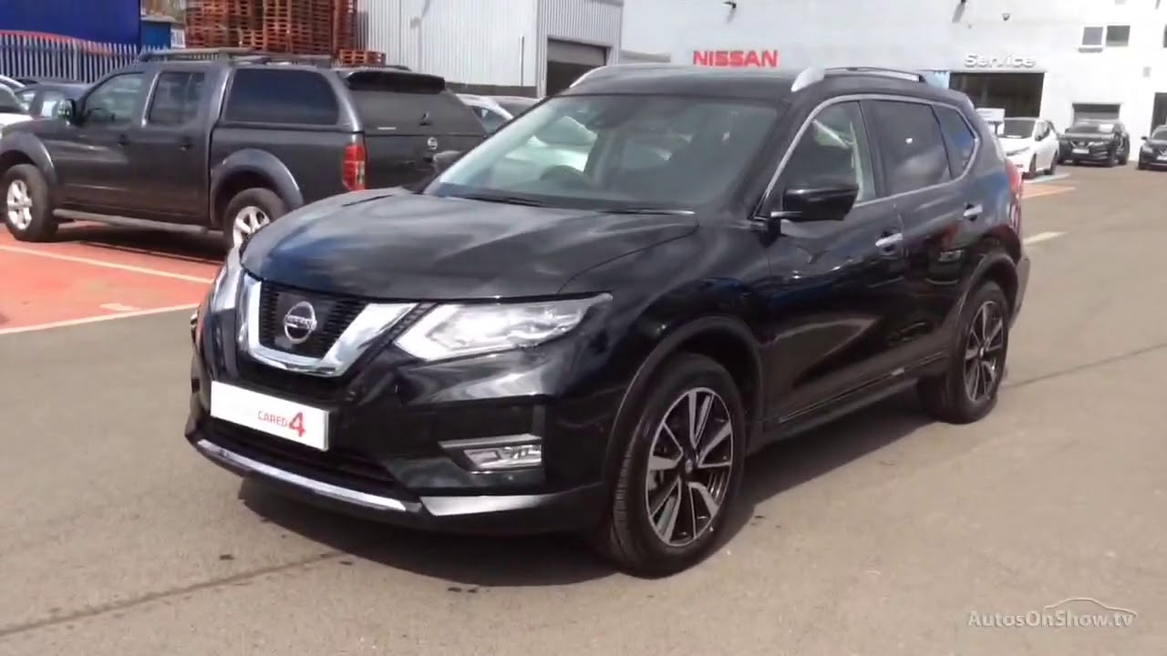 nissan x trail dci n connecta xtronic black 2018 youtube. Black Bedroom Furniture Sets. Home Design Ideas