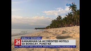 Karamihan sa accredited hotels sa Boracay, puno na