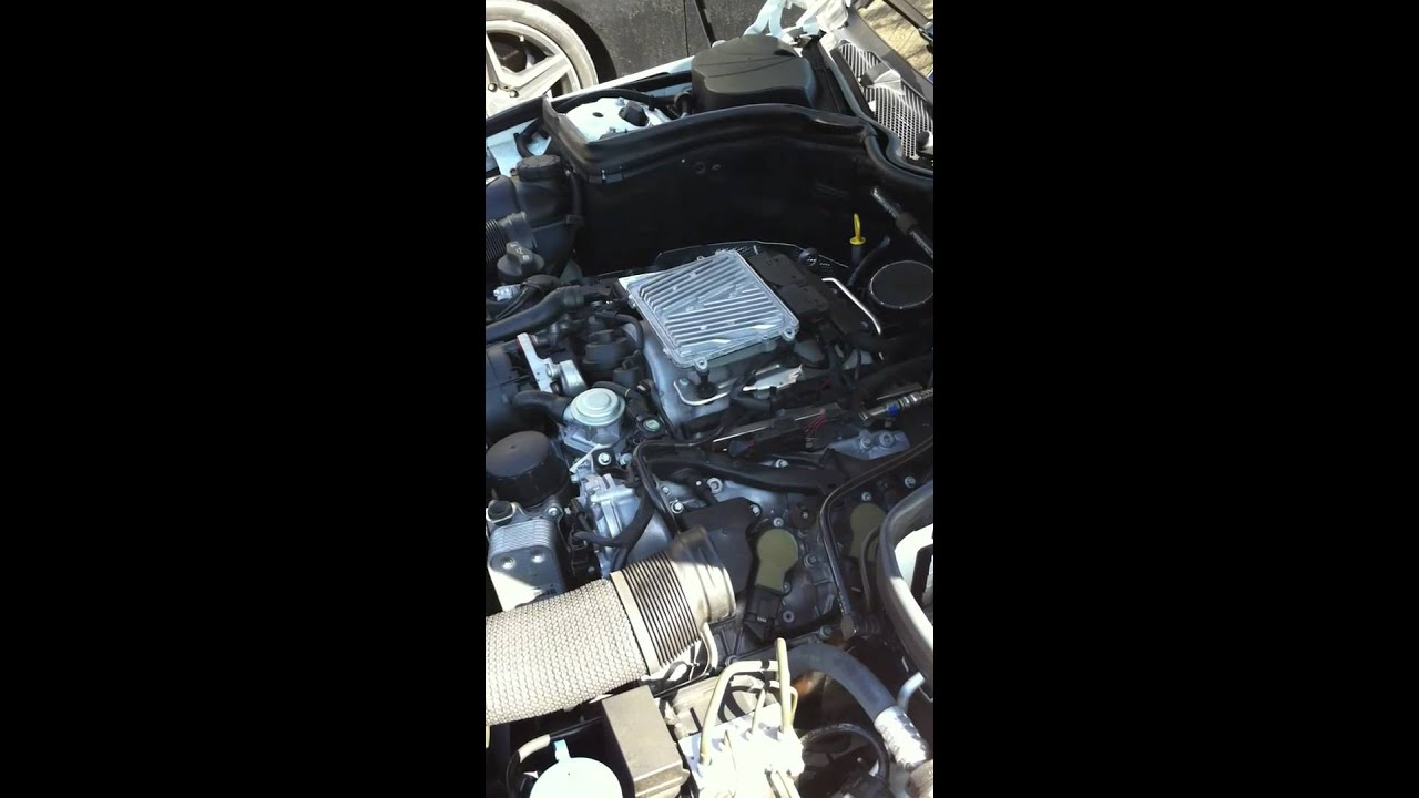 removing the ecu on a w204 mercedes benz c class youtube. Black Bedroom Furniture Sets. Home Design Ideas