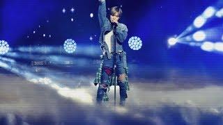 Despacito (Luis Fonsi) fancam 태민 TAEMIN (Music Bank 2018, Chile)
