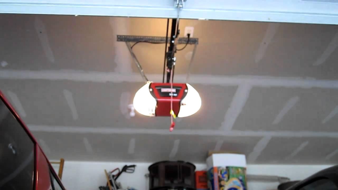 Craftsman Garage Door Opener Youtube