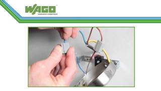 Official Wago Connectors Installer Video -How to- Demonstration