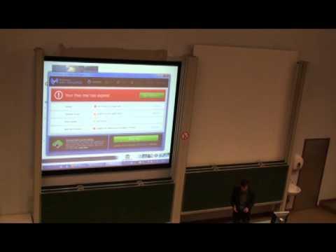 Ghent University-  Faculty of Sciences - Presentation Prof. Dr. D. Verschuren - MYC