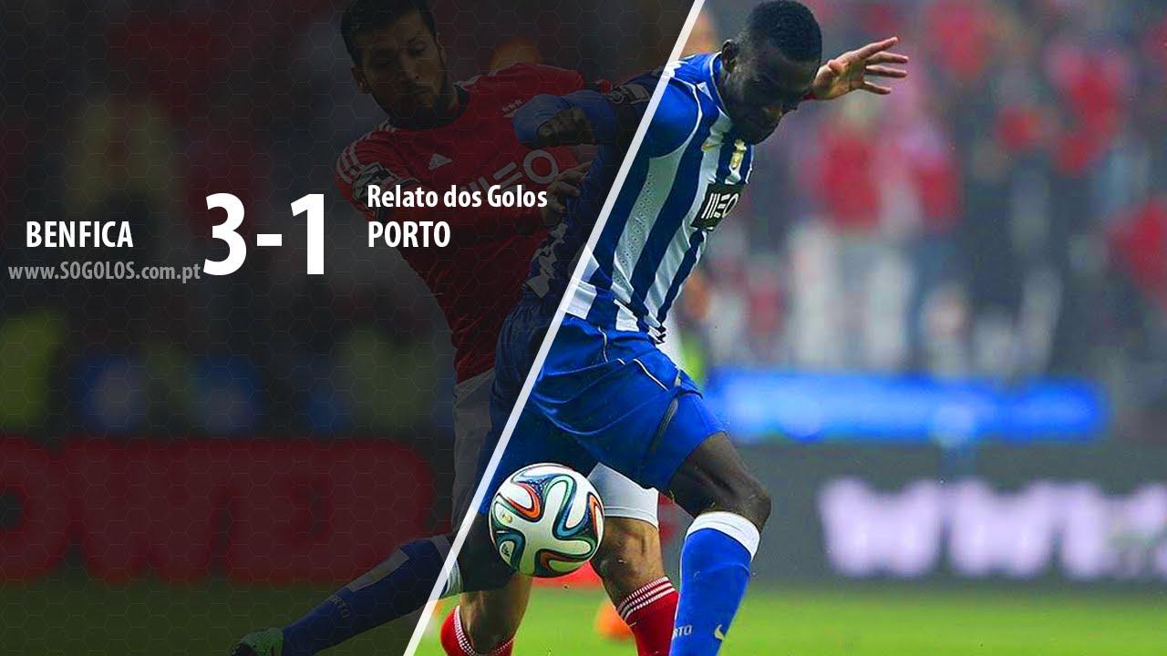 Benfica 3-1 Porto - Taça de Portugal - Relato - YouTube