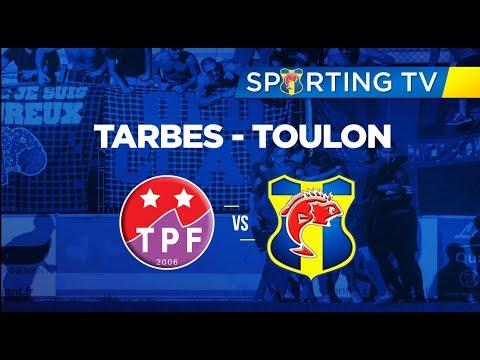 Tarbes PF - SPORTING CLUB TOULON (0-3) : 30ème journée de National 2 (19/05/2018)