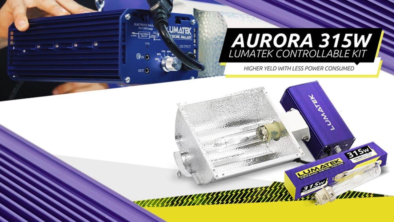 Lumatek Aurora CMH Dimmable 315w Ceramic Metal Halide CDM Grow System