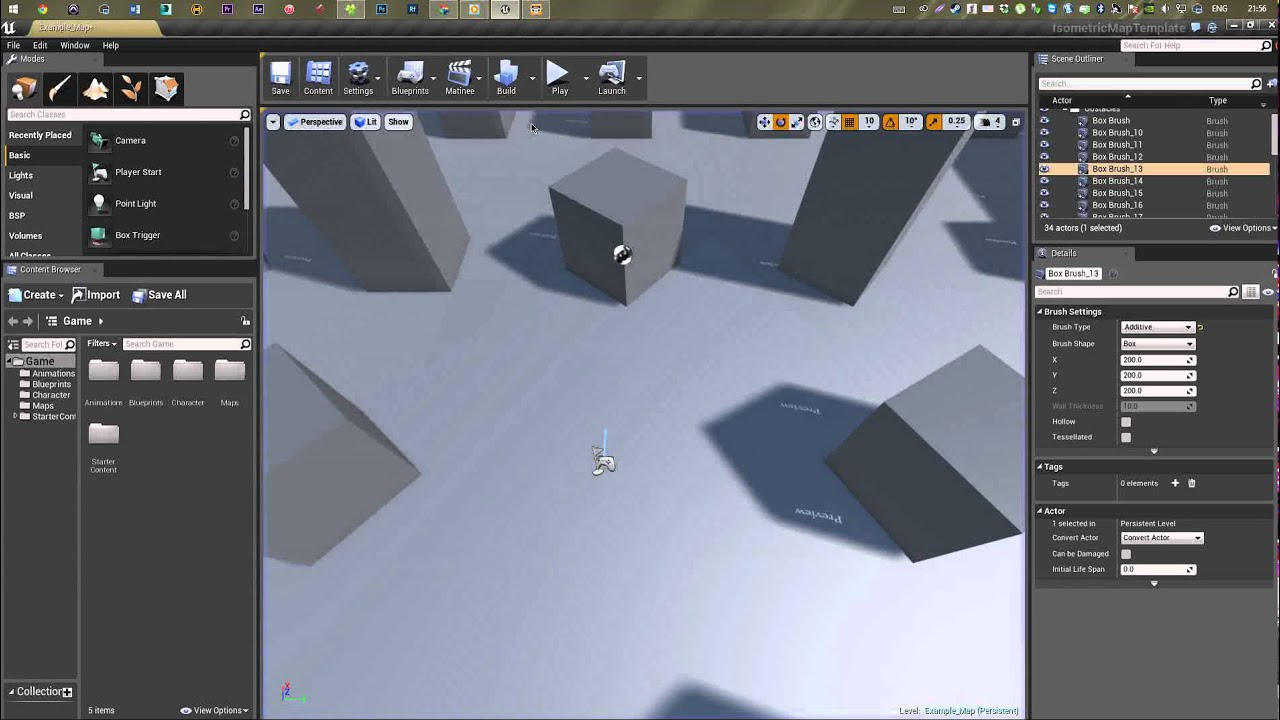 01 ue4 tutorial rpg 2d isometric orthographic camera setup youtube tyukafo