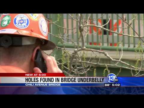 RIT on TV: RIT Civil Engineer interviewed about local bridge on WHAM