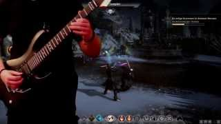 Dragon Age: Inquisition [Guitar Cover] - Battle for Haven / Knight Captain Denam - Boss Battle Resimi
